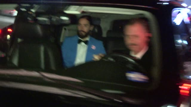 Jared Leto departs from Chateau Marmont in West Hollywood in Celebrity Sightings in Los Angeles