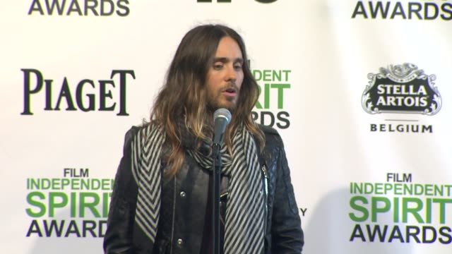 INTERVIEW Jared Leto on the unrest in Venezuela on working with JeanMarc Vallée and on his makeup in 'Dallas Buyers Club'at the 2014 Film Independent...