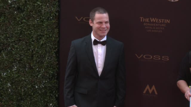 Jared Safier at the 43rd Annual Daytime Creative Arts Emmy Awards at Westin Bonaventure Hotel on April 29 2016 in Los Angeles California