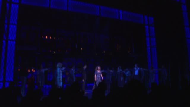 Jarrod Spector Jake Epstein Anika Larsen Jesse Mueller Jeb Brown Liz Larsen Sherry Goffin Kondor and Company at Beautiful The Carole King Musical...