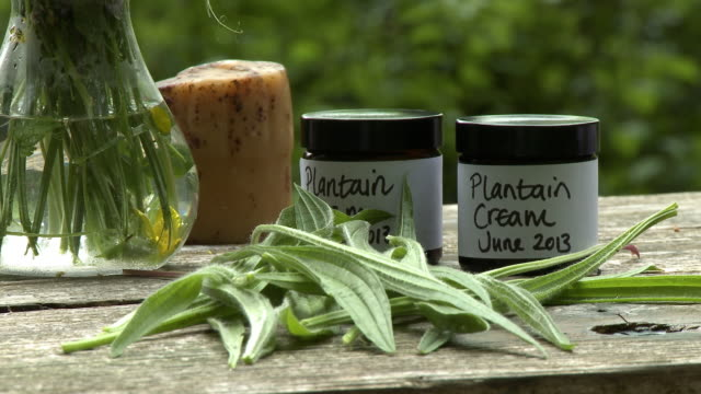 jars of plantain cream - 2013 stock videos & royalty-free footage