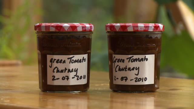 jars with handwritten labels - 2010 stock videos & royalty-free footage