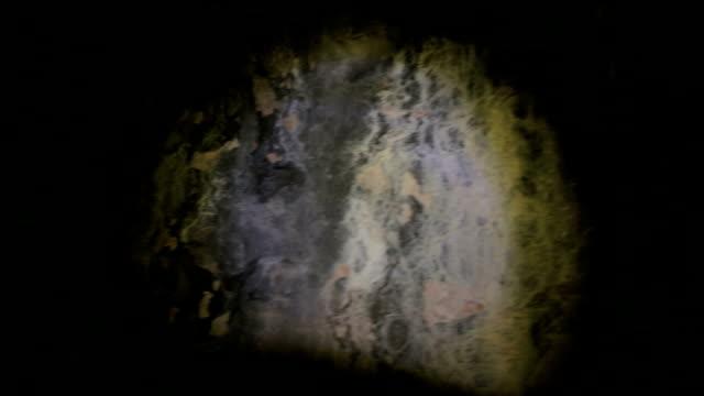 vídeos de stock, filmes e b-roll de caverna - stalactite