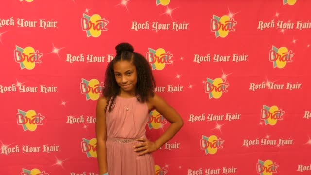 vidéos et rushes de jasmin brown at the rock your hair presents - rock back to school concert and party at avalon on september 30, 2017 in hollywood, california. - rock moderne