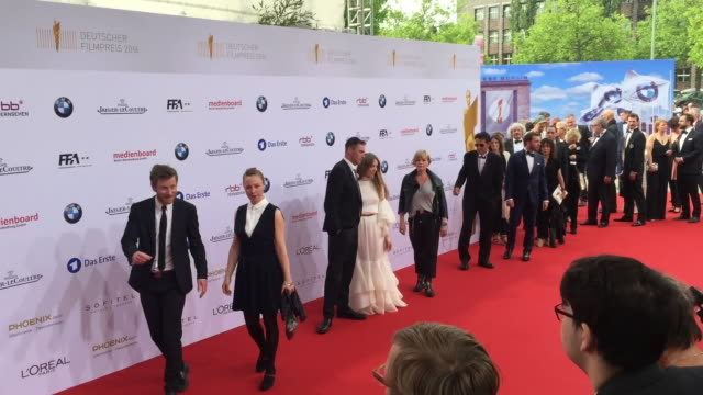 Jasmin Tabatabai at the Lola German Film Award at Messe Berlin on May 27 2016 in Berlin Germany