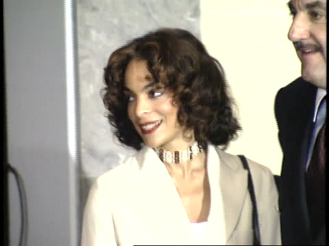 jasmine guy arrives and looks around red carpet - friars roast 1993 stock videos and b-roll footage