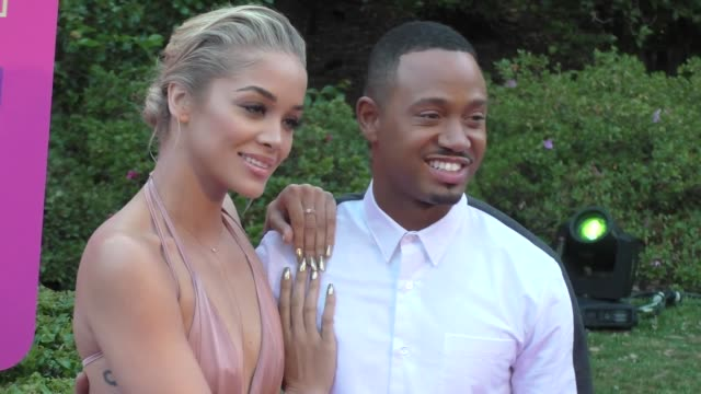 jasmine sanders and terrence j at the vh1 'dear mama' event at huntington library on may 06 2017 in pasadena california - vh1 stock videos & royalty-free footage