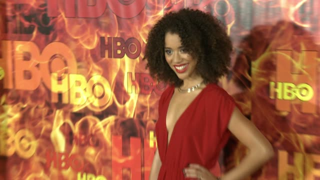 vídeos de stock, filmes e b-roll de jasmine savoy brown at the 2015 hbo emmy after party at the plaza at the pacific design center on september 20 2015 in los angeles california - primetime emmy awards