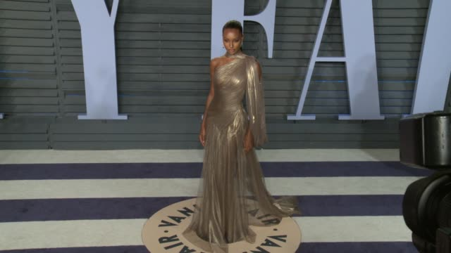 jasmine tookes at 2018 vanity fair oscar party on march 04, 2018 in beverly hills, california. - vanity fair oscar party stock videos & royalty-free footage