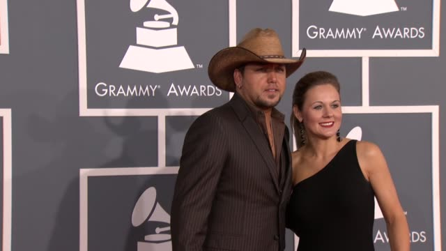 Jason Aldean at 54th Annual GRAMMY Awards Arrivals on 2/12/12 in Los Angeles CA