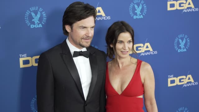 jason bateman and amanda anka at the 71st annual dga awards at the ray dolby ballroom at hollywood highland center on february 02 2019 in hollywood... - director's guild of america stock videos & royalty-free footage