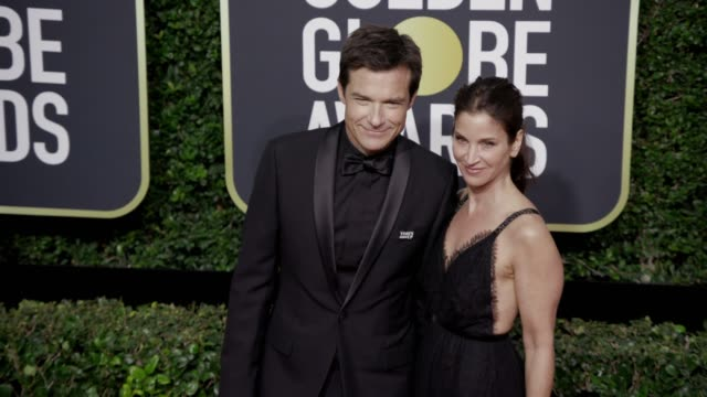 Jason Bateman and Amanda Anka at the 75th Annual Golden Globe Awards at The Beverly Hilton Hotel on January 07 2018 in Beverly Hills California