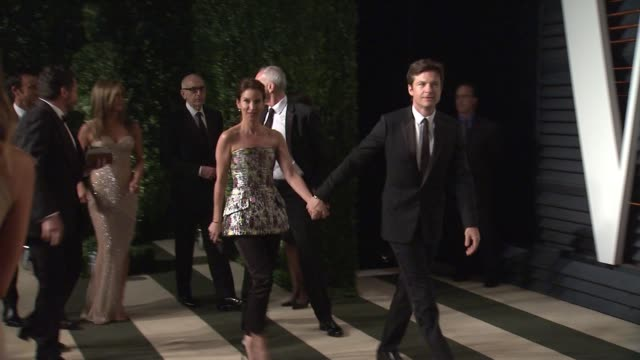 jason bateman at the 2015 vanity fair oscar party hosted by graydon carter at wallis annenberg center for the performing arts on february 22 2015 in... - wallis annenberg center for the performing arts stock videos and b-roll footage