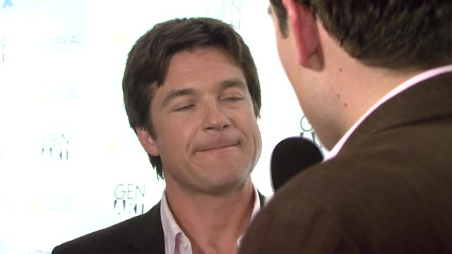 vídeos de stock e filmes b-roll de jason bateman at the 'the ex' premiere at director's guild of america in new york new york on may 3 2007 - director's guild of america