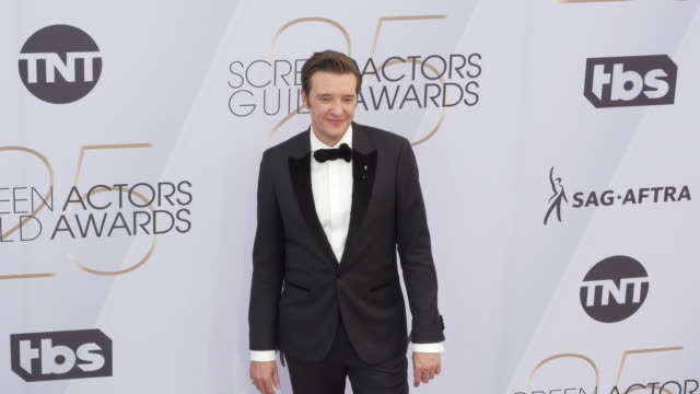 jason butler harner at 25th annual screen actors guild awards at the shrine auditorium on january 27 2019 in los angeles california - screen actors guild awards stock videos & royalty-free footage