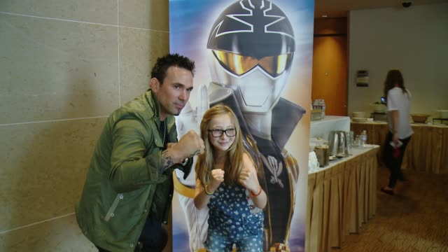 Jason David Frank at Saban's Power Rangers At San Diego ComicCon on July 26 2014 in San Diego California