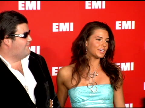jason davis and guest at the emi post-grammy party on february 8, 2006. - emi grammy party stock videos & royalty-free footage