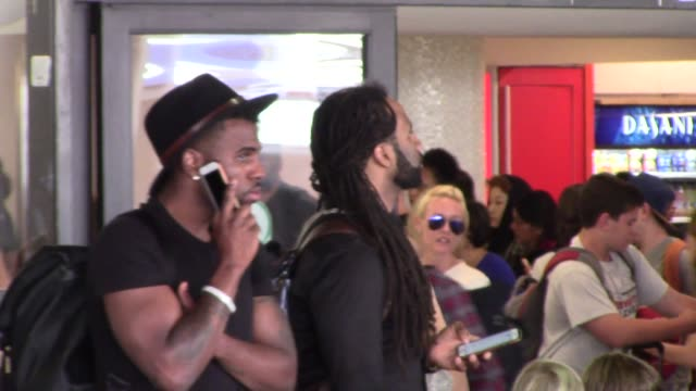 Jason Derulo arriving at LAX Airport in Los Angeles in Celebrity Sightings in Los Angeles