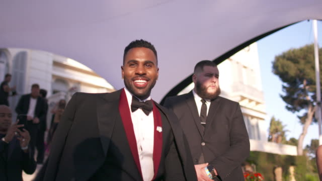 SLOMO Jason Derulo at amfAR Gala Cannes 2018 at Hotel du CapEdenRoc on May 17 2018 in Cap d'Antibes France