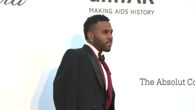 jason derulo at amfar gala cannes 2018 on may 17 2018 in cap d'antibes france - amfar stock videos & royalty-free footage