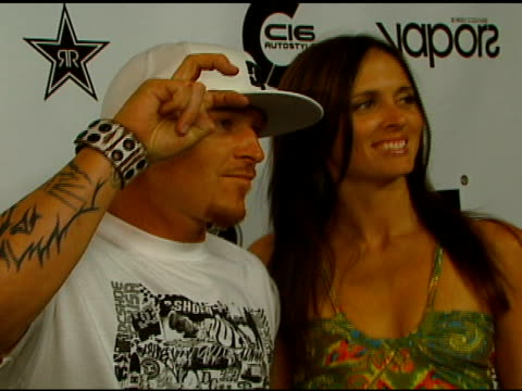 jason ellis and guest at the subaru / dc shoes x games event at avalon in hollywood california on august 4 2006 - dc shoes stock videos & royalty-free footage