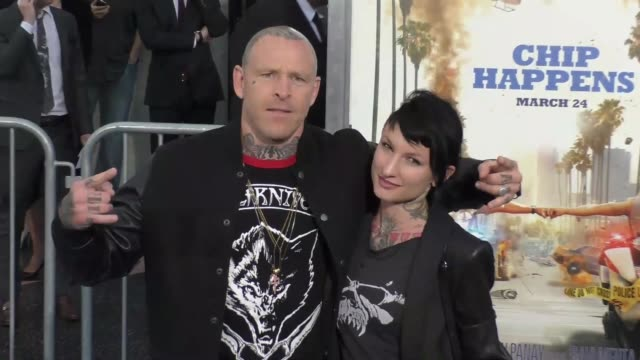 "jason ellis at the ""chips"" los angeles premiere at tcl chinese theatre on march 20, 2017 in hollywood, california. - tcl chinese theatre stock videos & royalty-free footage"