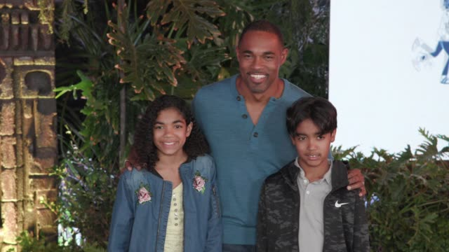 welcome to the jungle premiere in los angeles ca - jason george stock videos and b-roll footage