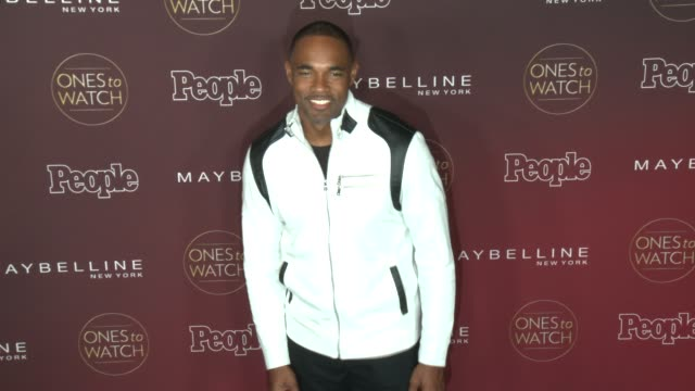 jason george at people's 'one to watch' celebration in los angeles ca - jason george stock videos and b-roll footage