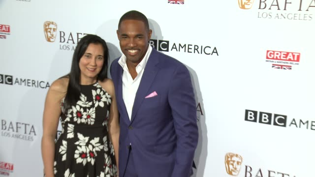 jason george at the bbc america bafta los angeles tv tea party 2016 at the london hotel on september 17 2016 in west hollywood california - jason george stock videos and b-roll footage