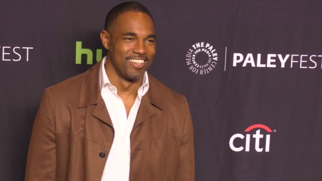 jason george at the paley center for media's 34th annual paleyfest los angeles grey's anatomy on march 19 2017 in hollywood california - jason george stock videos and b-roll footage