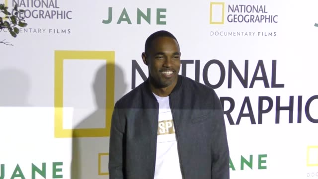 jason george at the premiere of national geographic documentary films' 'jane' at the hollywood bowl on october 09, 2017 in los angeles, california. - ドキュメンタリー映画点の映像素材/bロール