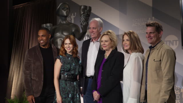 jason georgeelizabeth mclaughlin daryl anderson jobeth williams kathy connell todd milliner at the 26th annual screen actors guild awards®... - jason george stock videos and b-roll footage