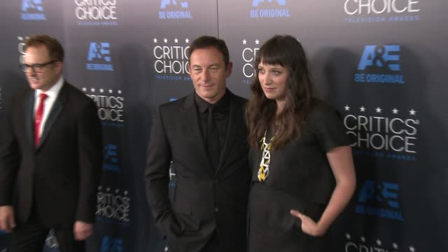 jason isaacs at the 2015 critics' choice television awards at the beverly hilton hotel on may 31, 2015 in beverly hills, california. - 放送テレビ批評家協会賞点の映像素材/bロール