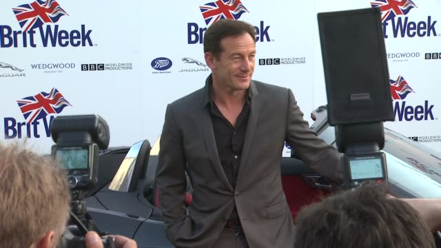 jason isaacs at the launch of the seventh annual britweek festival a salute to old hollywood on 4/23/13 in los angeles ca - jason isaacs stock videos & royalty-free footage