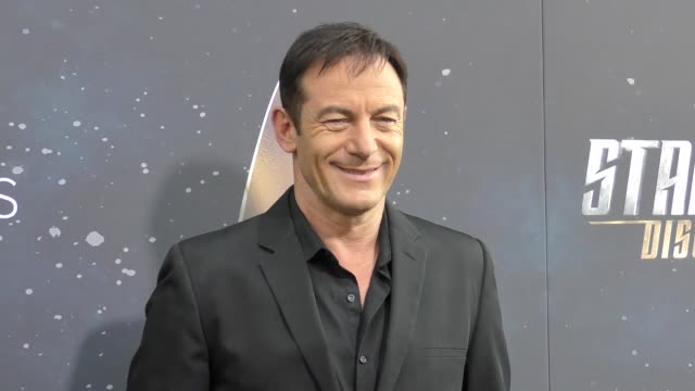 jason isaacs at the premiere of cbs's 'star trek discovery' on september 19 2017 in los angeles california - jason isaacs stock videos & royalty-free footage