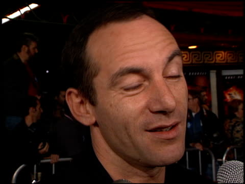 jason isaacs at the 'soldier' premiere at grauman's chinese theatre in hollywood california on october 21 1998 - jason isaacs stock videos & royalty-free footage