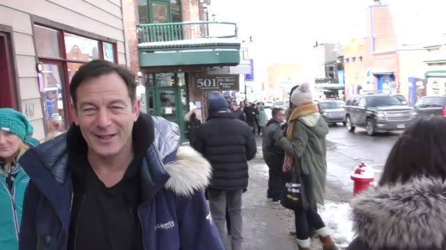 Jason Isaacs on Main Street at the Sundance Film Festival in Celebrity Sightings in Park City UT
