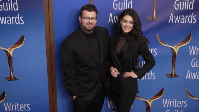 jason johnson at the 2020 writers guild awards at the beverly hilton hotel on february 01, 2020 in beverly hills, california. - the beverly hilton hotel stock videos & royalty-free footage