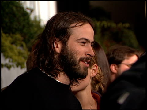 Jason Lee at the 'Dogma' Premiere at Harmony Gold Theater in Hollywood California on November 9 1999