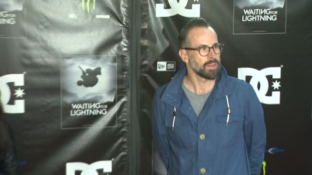 jason lee at waiting for lightning screening and afterparty presented by dc shoes a documentary about skateboarder danny way on 4/10/12 in los... - dc shoes stock videos & royalty-free footage