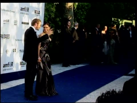 jason lewis and rosario dawson at the amfar's cinema against aids in cannes on may 25 2006 - rosario dawson stock videos and b-roll footage