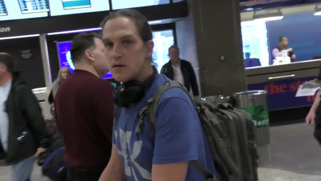 Jason Mewes arriving to the Sundance Film Festival at Salt Lake City Airport in Utah in Celebrity Sightings in Park City UT