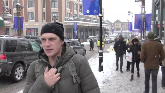INTERVIEW Jason Mewes on Jay and Silent Bob 2 on Main Street at the Sundance Film Festival in Park City Utah at Celebrity Sightings in Park City on...