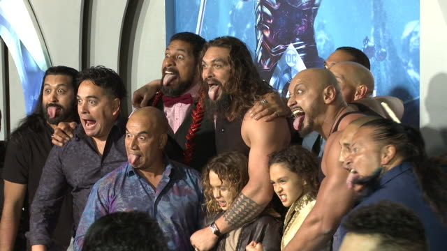 Jason Momoa at the Aquaman Premiere at TCL Chinese Theatre on December 12 2018 in Hollywood California