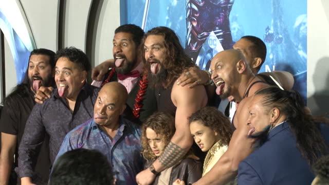 Jason Momoa at the 'Aquaman' Premiere