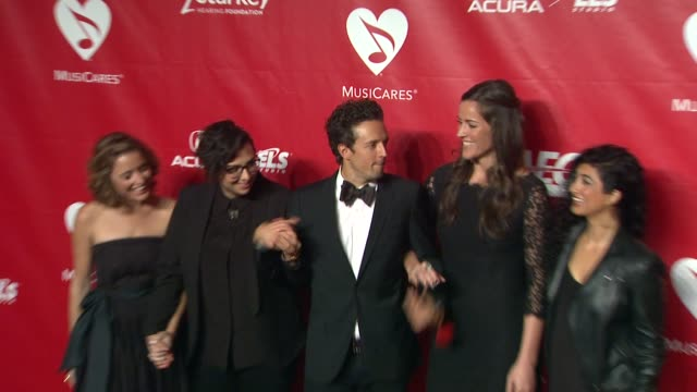 jason mraz at 2014 musicares person of the year honoring carole king at los angeles convention center on in los angeles california - musicares foundation stock videos & royalty-free footage