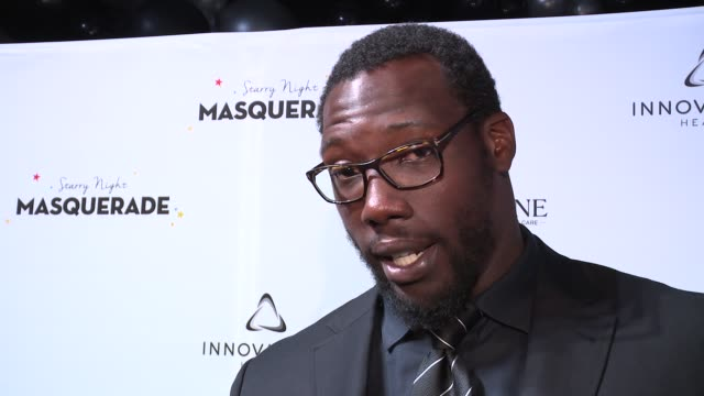 INTERVIEW – Jason Pierre Paul on what he'd like to say to Puerto Ricans at Daniel E Straus CareOne Starry Night Masquerade For Puerto Rico at...
