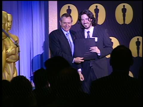 jason Reitman Ivan Reitman at the 82nd Academy Awards Nominees Luncheon at Beverly Hills CA