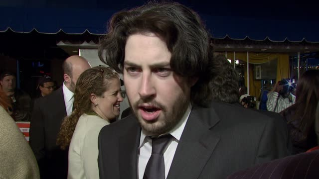jason reitman on his mission for this film, the cast, and how he feels about opening a movie that has generated so much buzz at the 'juno' premiere... - regency village theater stock videos & royalty-free footage