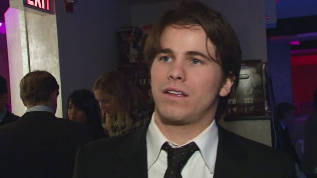 Jason Ritter/ Actor Mr Ritter talks about how he got involved with the Creative Coalition and what brings him out tonight He discusses First...